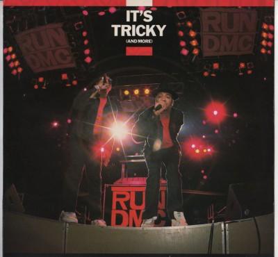"Run-DMC - Its Tricky (And More) 12"" vinyl - picture sleeve, www.jiggyjamz.com"