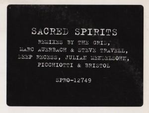 Sacred Spirits - Yah-Noha (House Mix) 2 x vinyl - www.jiggyjamz.com