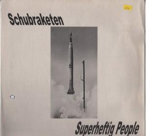 Schubraketen - Superheftig People - acid trance vinyl - www.jiggyjamz.com