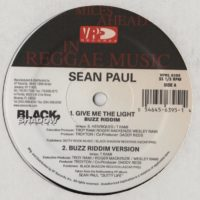 Sean Paul - Give Me The Light / Like Glue 12 Inch vinyl - www.jiggyjamz.com