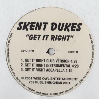 Skent Dukes - Get It Right - Play Up - www.jiggyjamz.com