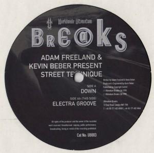 Street Technique - Down - Electra Groove - vinyl - www.jiggyjamz.com