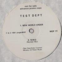 Test Dept - New World Order - vinyl - www.jiggyjamz.com