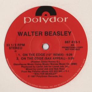 Walter Beasley - On The Edge - Where - vinyl - www.jiggyjamz.com