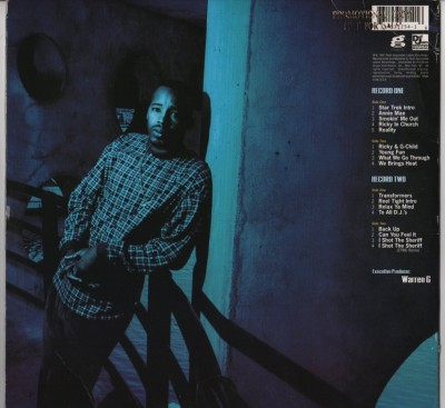 Warren G - Take A Look Over Your Shoulder (Reality) (2xVinyl, Album, Promo) - www.jiggyjamz.com