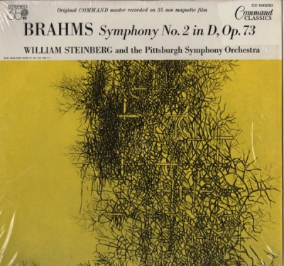 Brahms, William Steinberg, Pittsburgh Symphony Orchestra ‎– Symphony No. 2 In D Opus 73