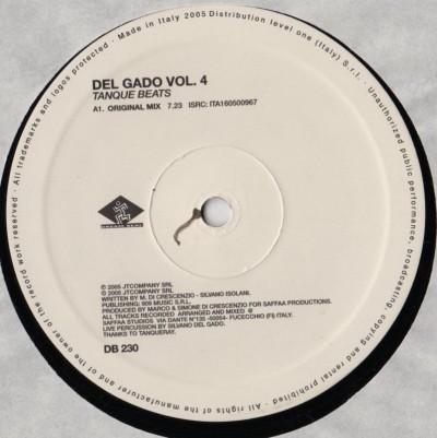 Del Gado - Vol. 4 Tanque Beats