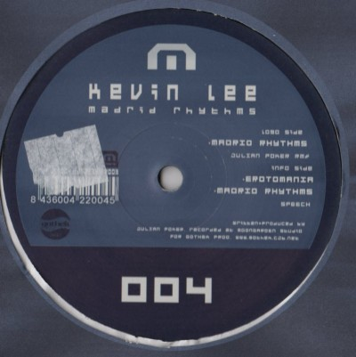 """Kevin Lee - Madrid Rhythms (12"""")"""