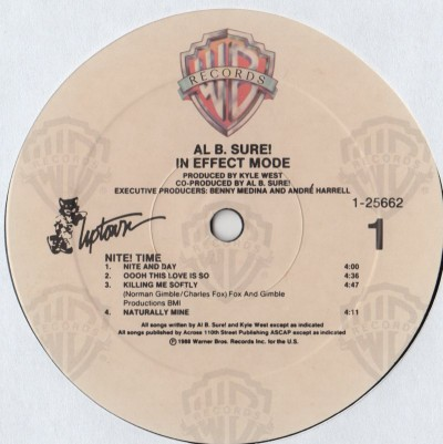 Al B Sure - In Effect Mode - LP - www.jiggyjamz.com