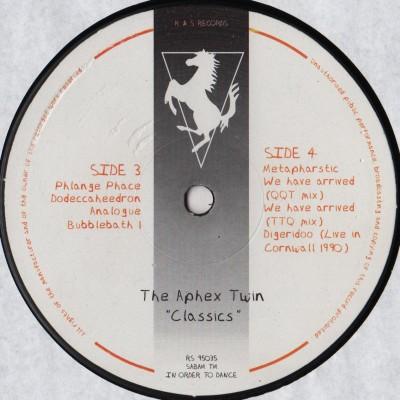 Aphex Twin - Classics 2xLP - www.jiggyjamz.com