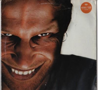 Aphex Twin - Richard D James LP - used vinyl - www.jiggyjamz.com