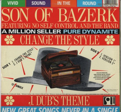 Son Of Bazerk - Change The Style - vinyl 1990 - www.jiggyjamz.com