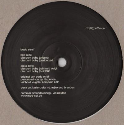Bodo Elsel - Discount Baby - playhouse vinyl record - www.jiggyjamz.com