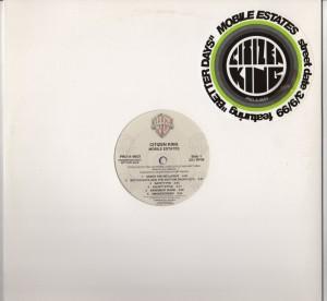 Citizen King - Mobile Estates (LP) Promo - vinyl- www.jiggyjamz.com