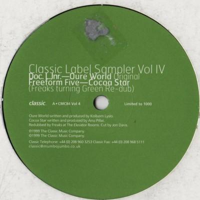 Classic Label Sampler Vol IV - 1999 - vinyl - Freaks remix - www.jiggyjamz.com