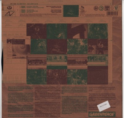 Coldcut - Hexstatic - Timber - ZEN 1265 - vinyl - green peace - www.jiggyjamz.com