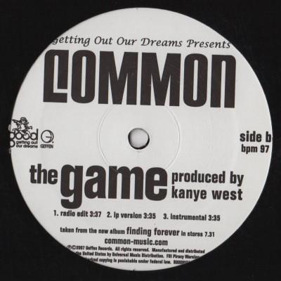 Common - The People The Game - vinyl - kanye west - www.jiggyjamz.com