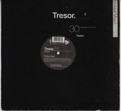 Cristian Vogel - (Dont) Take More - Tresor - techno vinyl record - www.jiggyjamz.com - jamie lidell