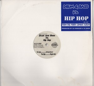 DJ Kingsize -DJ Deon-Drum And Bass vs Hip Hop - vinyl - www.jiggyjamz.com