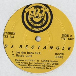 DJ Rectangle - Let The Bass Kick- Battle Breaks - www.jiggyjamz.com