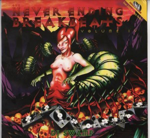 DJ Swamp-The Neverending Breakbeats Volume IV 2xlp vinyl - www.jiggyjamz.com