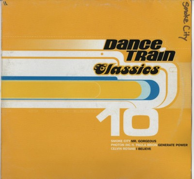 Dance Train 10 - Smoke City - Mood II Swing - house - vinyl - www.jiggyjamz.com