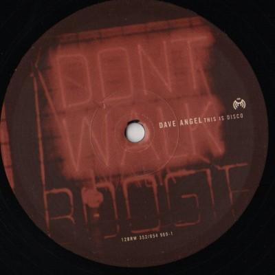 Dave Angel - This Is Disco - ian pooley - vinyl - www.jiggyjamz.com