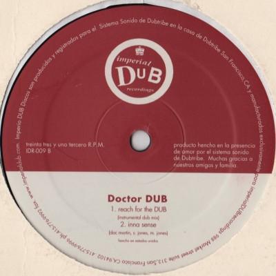 Doctor-Dub-Reach For The Sky - Inna Sense - IDR-009 - vinyl - www.jiggyjamz.com