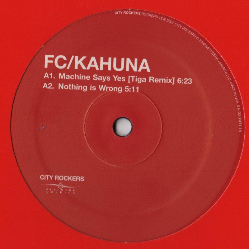 fc kahuna machine says yes