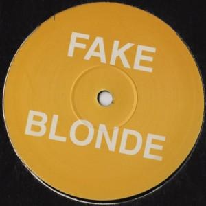 Fake Blonde - Blondie - Rampage House Remix - vinyl - www.jiggyjamz.com
