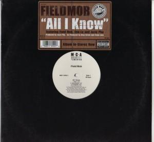 Field Mob - All I Know - Sick Lonely - Cee-Lo - Jazze Pha - vinyl - www.jiggyjamz.com