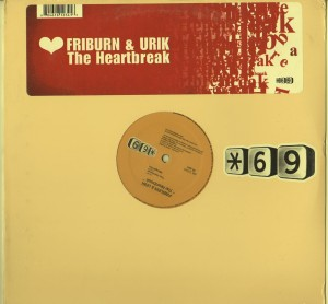 Firburn Urik - Heartbreak - Tribal House vinyl record - www.jiggyjamz.com