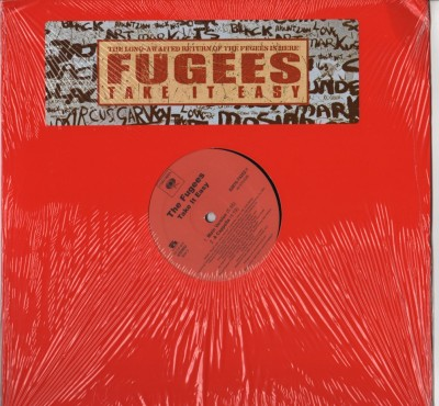 Fugees - take It Easy - vinyl - www.jiggyjamz.com