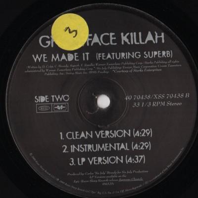 Ghostface Killah - Cherchez LaGhost - vinyl - www.jiggyjamz.com