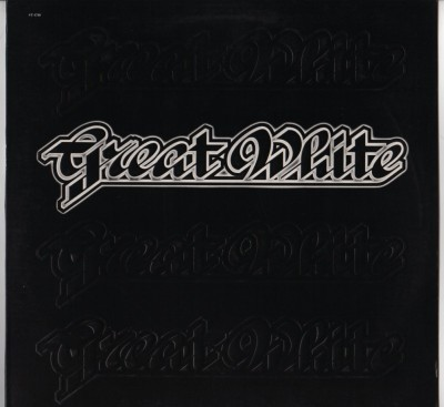 Great White - Great White LP Embossed Cover- vinyl - www.jiggyjamz.com