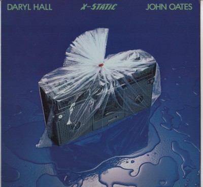Hall and Oates - X-static - LP - vinyl - www.jiggyjamz.com