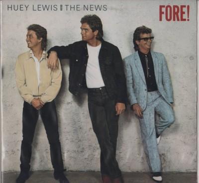 Huey Lewis News - Fore! LP - vinyl - www.jiggyjamz.com