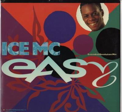 ICE MC - Easy (Extended Revolution Mix) - vinyl - www.jiggyjamz.com