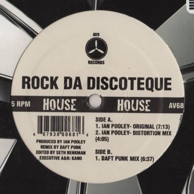 Ian Pooley - Rock Da Discoteque EP Daft Punk - vinyl - www.jiggyjamz.com