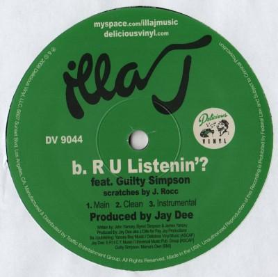 Illa J - We Here (12) vinyl - J-Dilla - www.jiggyjamz.com