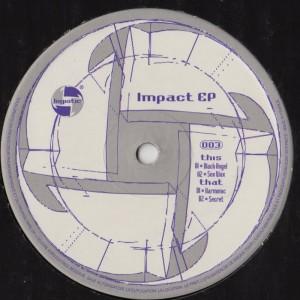 Logistic Records - Impact EP - techno vinyl - www.jiggyjamz.com