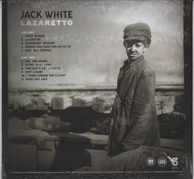 Jack White - Lazaretto (LP) 2014 vinyl - www.jiggyjamz.com
