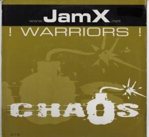 Jamx - warriors- trance vinyl - www.jiggyjamz.com