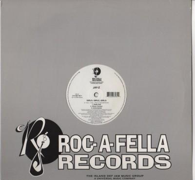 Jay-Z - Girls Girls Girls - Takeover - vinyl - www.jiggyjamz.com