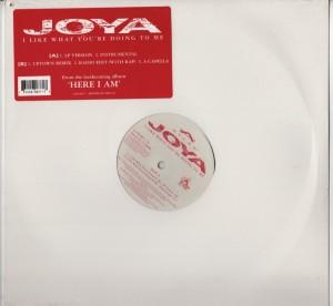 Joya - I Like What Youre Doing To Me - vinyl - www.jiggyjamz.com