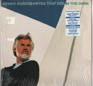 Kenny Rogers - Eyes That See In The Dark - LP vinyl - www.jiggyjamz.com