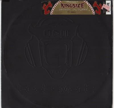 Kingsize - Dragons - players - DNB vinyl - www.jiggyjamz.com