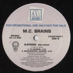 MC Brains - Brainstorming - G-String
