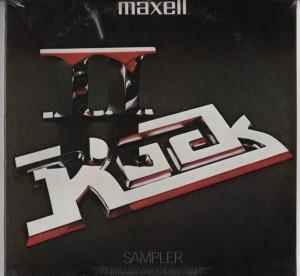 Maxell - Rock II - Rock Compilation - vinyl - www.jiggyjamz.com