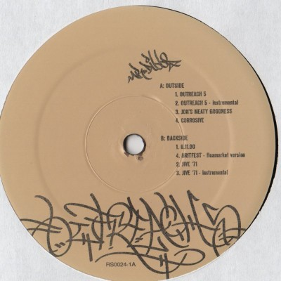 Mr Dibbs - Outreach 5 - Rhymesayers - vinyl record - www.jiggyjamz.com